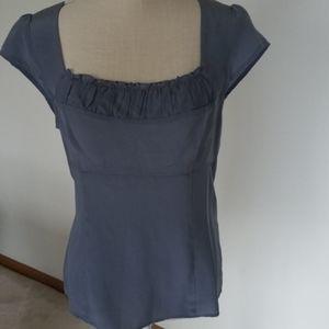 Nanette lepore designer silk top NWT